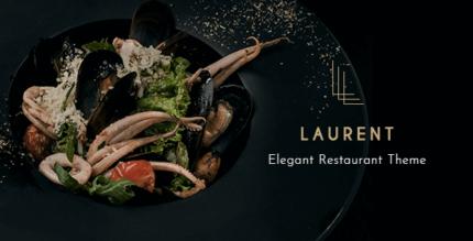 Laurent 2.5 NULLED – Elegant Restaurant Theme
