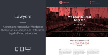 Lawyers 4.2.0 – Responsive Business WordPress Theme