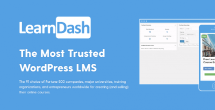LearnDash LMS Plugin 3.4.0.8 NULLED + ProPanel 2.1.4 – The Most Trusted WordPress LMS