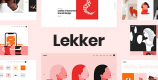 Lekker 1.2.1 NULLED – Portfolio WordPress Theme