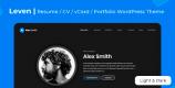 Leven 1.6.1 – CV Resume Theme