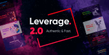 Leverage 2.1.0 – Creative Agency & Portfolio WordPress Theme
