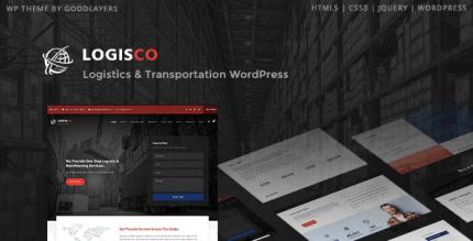 Logisco 1.0.7 – Logistics & Transportation WordPress