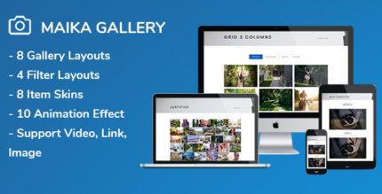 Maika 1.18 – Gallery Plugin for WordPress