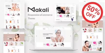 Makali 1.4.4 – Cosmetics & Beauty Theme for WooCommerce WordPress