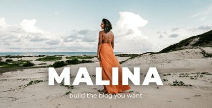 Malina 2.3.3 – Personal WordPress Blog Theme