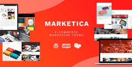 Marketica 4.6.11 – Marketplace WordPress Theme