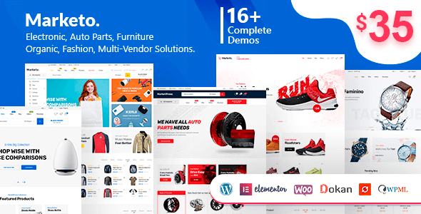 Marketo 3.4 – ECommerce & Multivendor A Woocommerce WordPress Theme