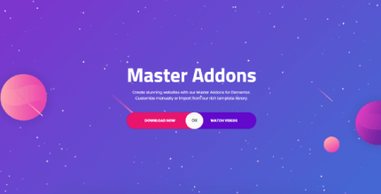 Master Addons for Elementor 1.7.4 NULLED