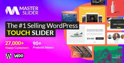 Master Slider 3.5.5 – WordPress Responsive Touch Slider