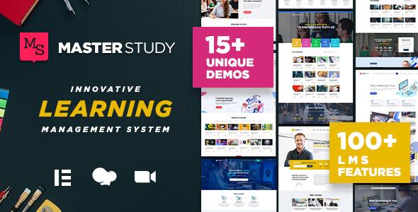 Masterstudy 4.3.9 NULLED – Education Center WordPress Theme