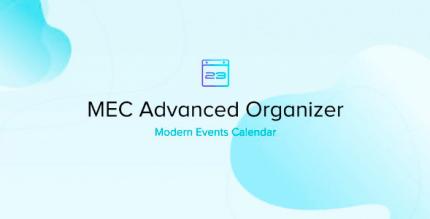 Modern Events Calendar Advanced Organizer 1.0.6