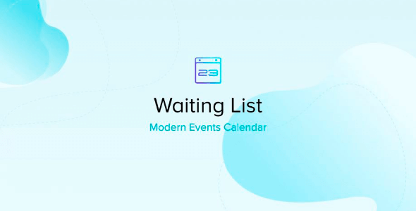 Modern Events Calendar Waiting List 1.0.5