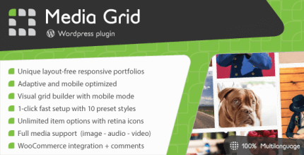 Media Grid 6.5.1 – WordPress Responsive Portfolio