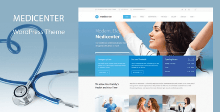 MediCenter 13.1 – Health Medical Clinic WordPress Theme