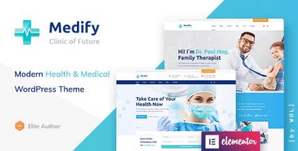 Medify 1.1.4 NULLED – Health & Clinic WordPress Theme