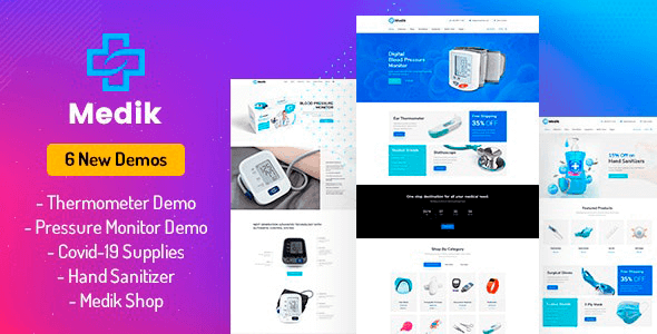 Medik 2.4 – Medical WooCommerce Theme