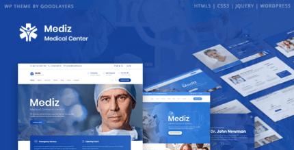 Mediz 2.0.4 – Medical WordPress