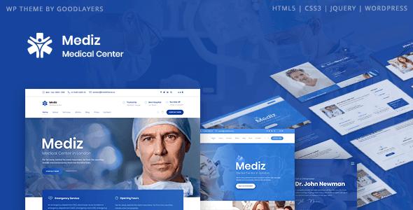 Mediz 2.0.5 – Medical WordPress