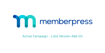 MemberPress Active Campaign – Lists Version Add-On 1.1.0