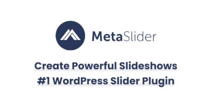 Meta Slider 3.21.0 + Pro 2.18.3 – Responsive WordPress Slider Plugin