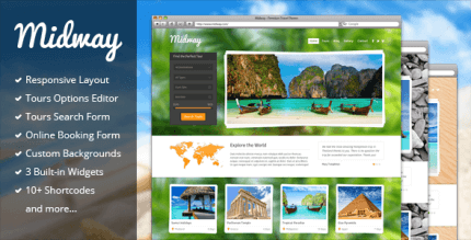 Midway 3.13 – Responsive Travel WP Theme