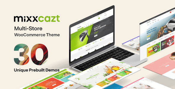 Mixxcazt 1.5.1 – Creative Multipurpose WooCommerce Theme