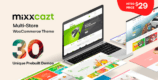 Mixxcazt 1.2.0 – Creative Multipurpose WooCommerce Theme