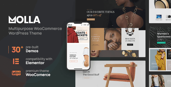 Molla 1.2.10 NULLED – Multi-Purpose WooCommerce Theme