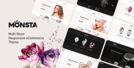 Monsta 1.1.0 – Jewelry Theme for WooCommerce WordPress