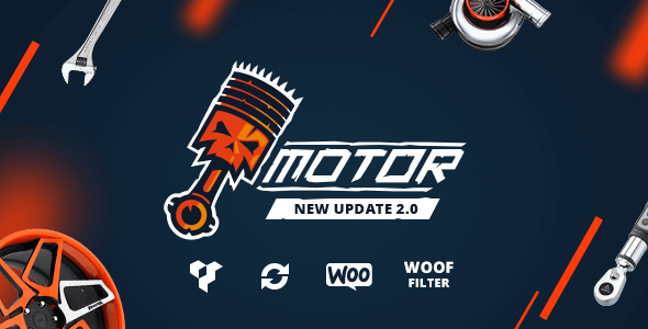 Motor 3.1.0 – Vehicles Parts Equipments and Accessories WooCommerce Store