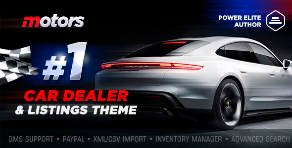 Motors 5.1.0 NULLED – Car Dealership WordPress Theme