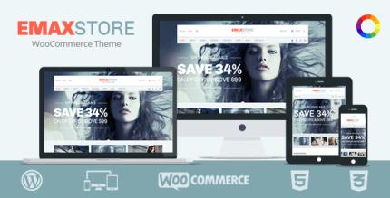 eMaxStore 1.4.11 – Multipurpose eCommerce WordPress Theme