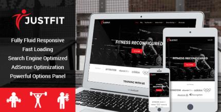 JustFit 2.2.5 – Responsive Health WordPress Theme