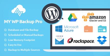My WP Backup Pro 1.3.13
