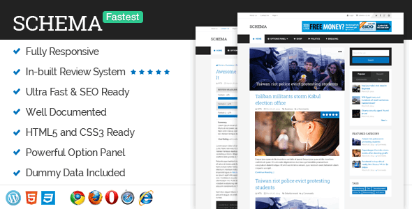 Schema 3.9.15 – Fastest SEO Theme Available for WordPress