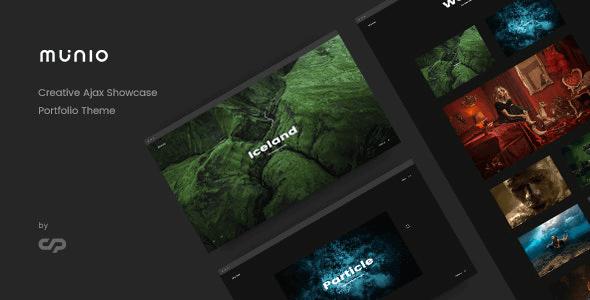 Munio 1.6 – Creative Portfolio Theme