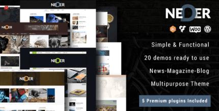 Neder 1.0 – WordPress News Magazine and Blog Theme