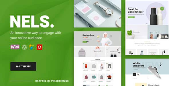 Nels 1.2.7 – An Exquisite eCommerce WordPress Theme