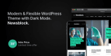 Newsblock 1.1.6 NULLED – Modern WordPress Theme with Dark Mode