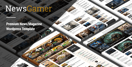 NewsGamer 3.1 – WordPress News Magazine Theme