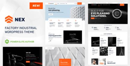 Nex 10 NULLED – Factory & Industrial WordPress