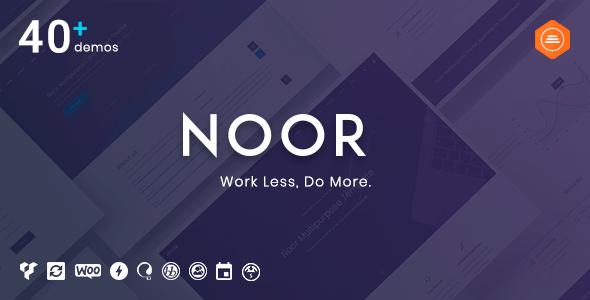 Noor 5.7.13 NULLED – Multipurpose & Fully Customizable Creative Theme