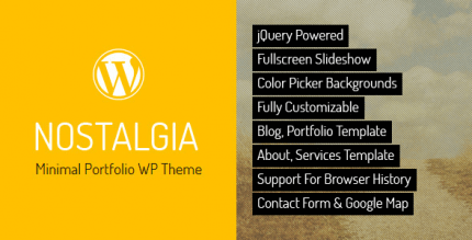 nostalgia-portfolio-wordpress-theme