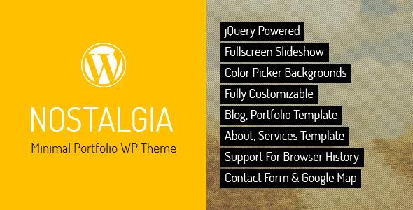 nostalgia-portfolio-wordpress-theme