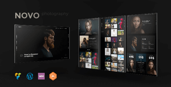 Novo 3.1.8 NULLED – Photography WordPress for Photography