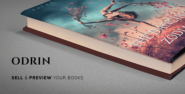 Odrin 1.3.5 – Book Selling WordPress Theme for Writers and Authors