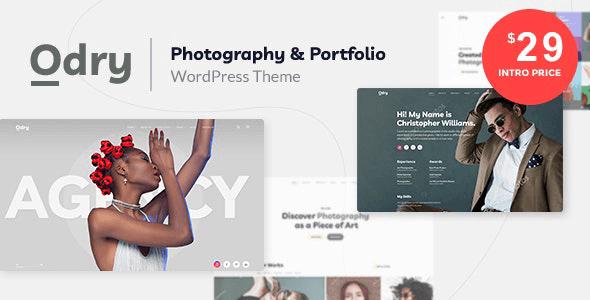 Odry 1.1.0 NULLED – Photography & Portfolio