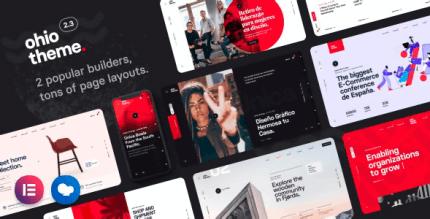 Ohio 2.3.7 NULLED – Creative Portfolio & Agency WordPress Theme