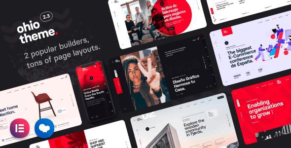Ohio 2.4.2 NULLED – Creative Portfolio & Agency WordPress Theme